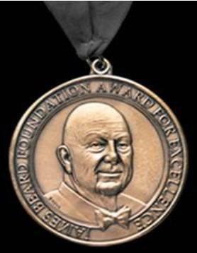 Pictured: The James Beard Award