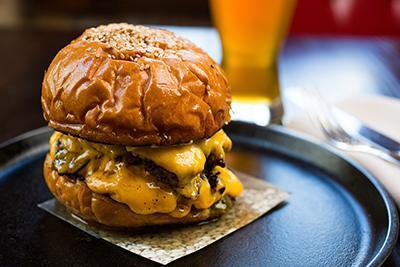 The Husk Cheeseburger From: Forbes