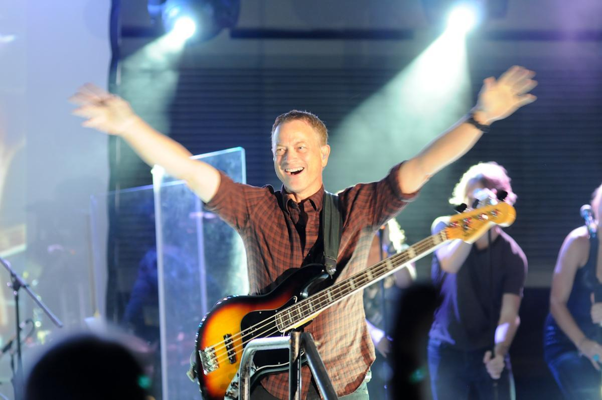 Gary Sinise - provided by North Charleston Coliseum