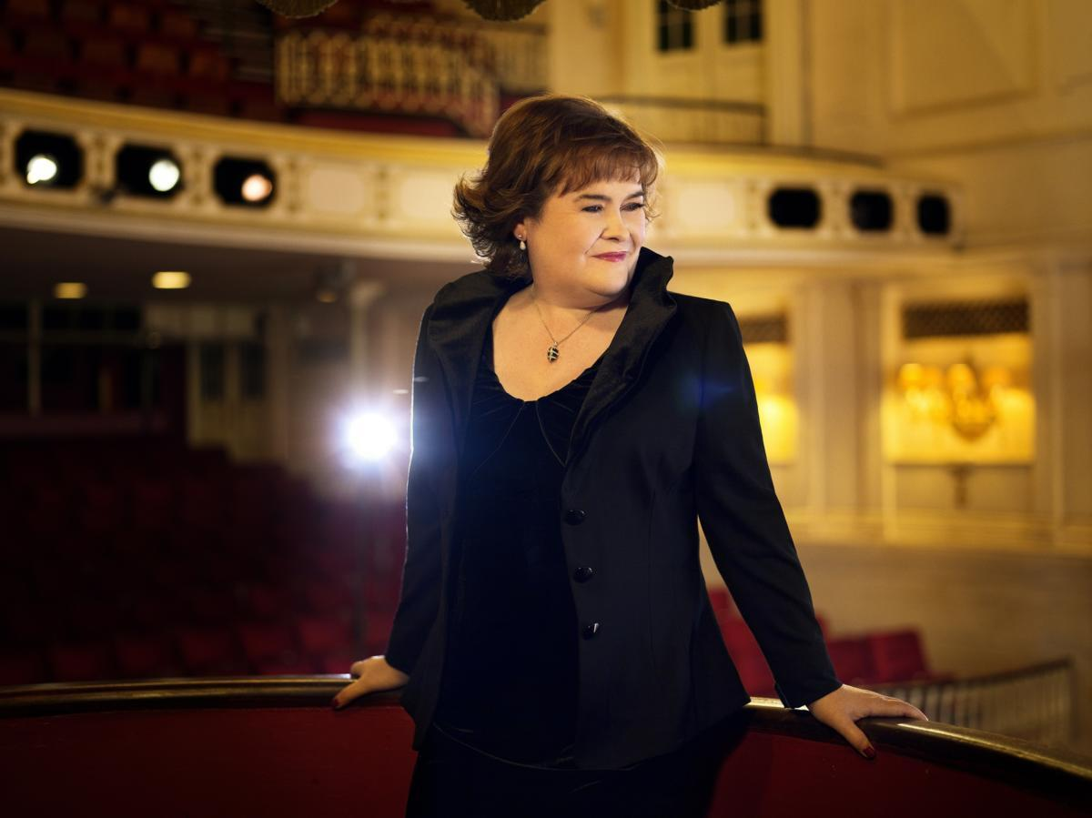 Susan Boyle 2014 - provided by  North Charleston Performing Arts Center