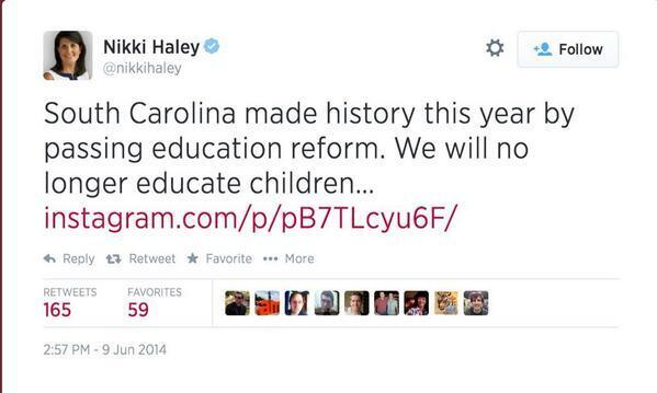Credit: @nikkihaley