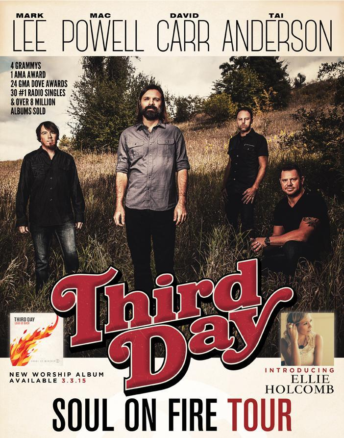 Third Day - Provided by North Charleston PAC