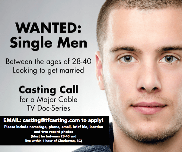 MBMD Single Men Flier