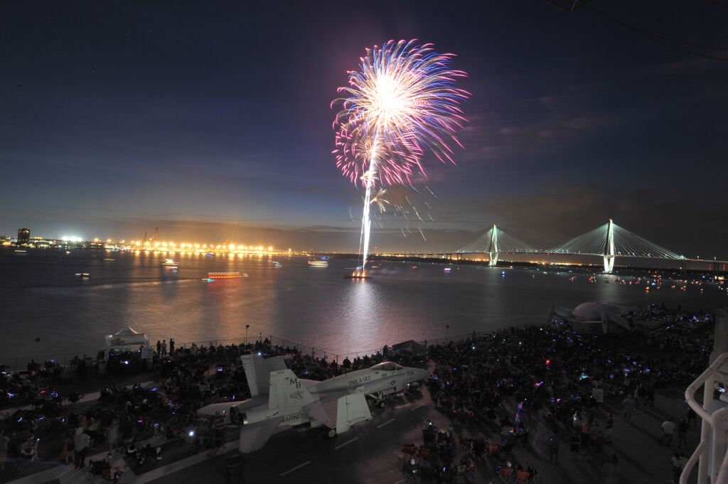 Tickets for Patriots Point's 4th of July Fireworks Blast ...