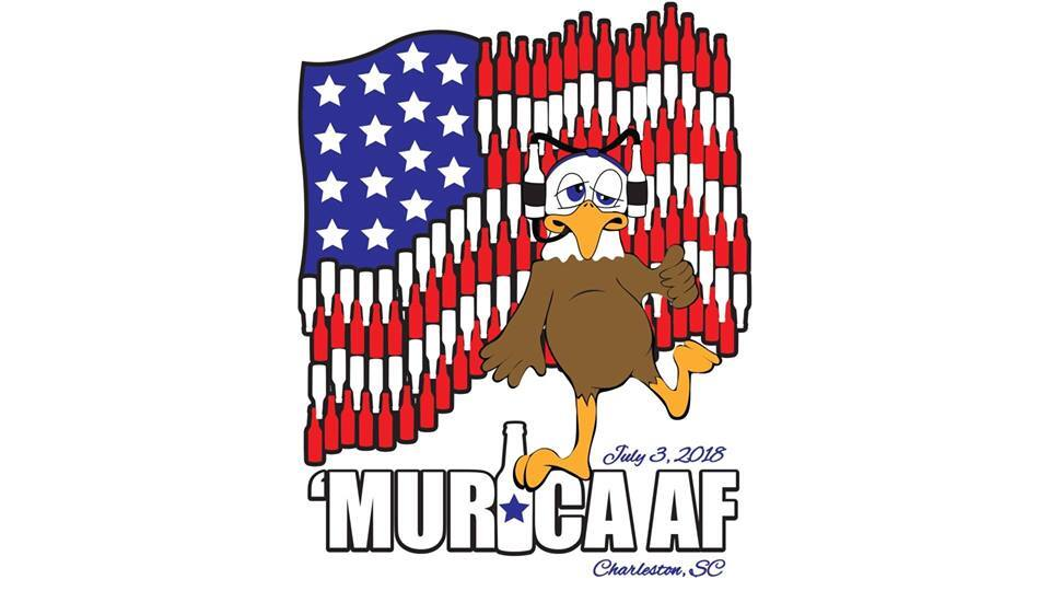 Red, White, & Booze! 6th Annual 'Murica Bar Crawl Set for 7