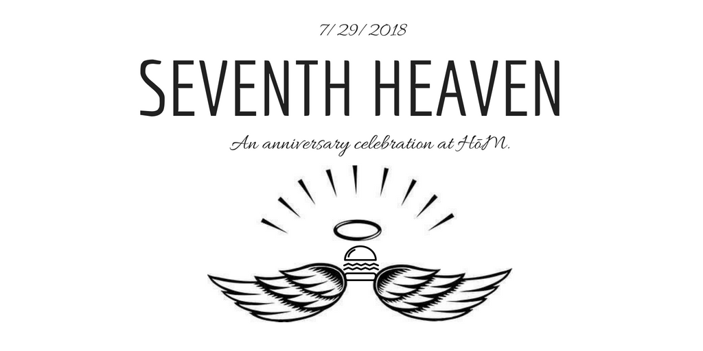 Hōm Celebrates 7 Year Anniversary With Seventh Heaven Party On Sunday Holy City Sinner