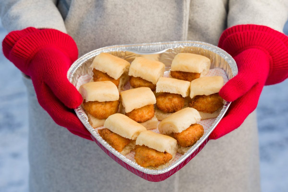 Chick Fil A Calendar February 2019 Chick fil A Offering Heart Shaped Nugget and Chick n Minis Boxes