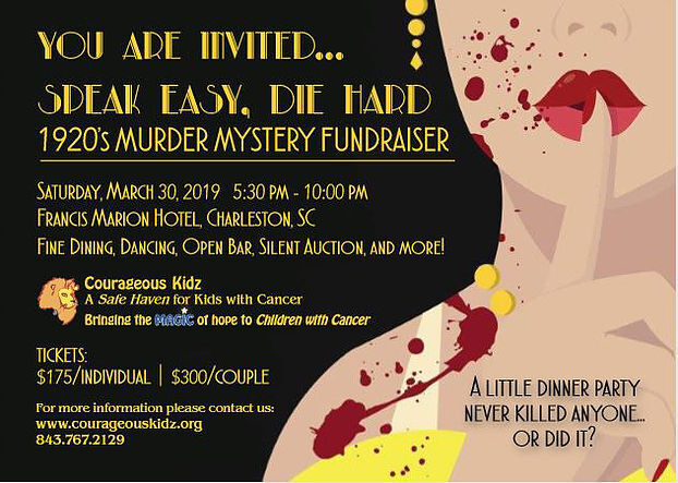 Courageous Kidz To Host 1920s Themed Murder Mystery Fundraiser
