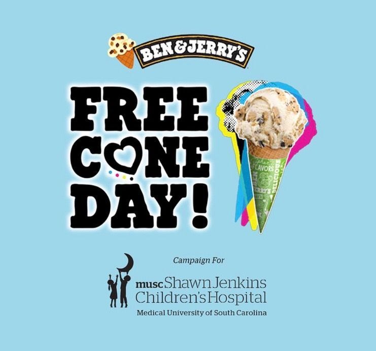 Ben & Jerry's FREE Cone Day is Tuesday