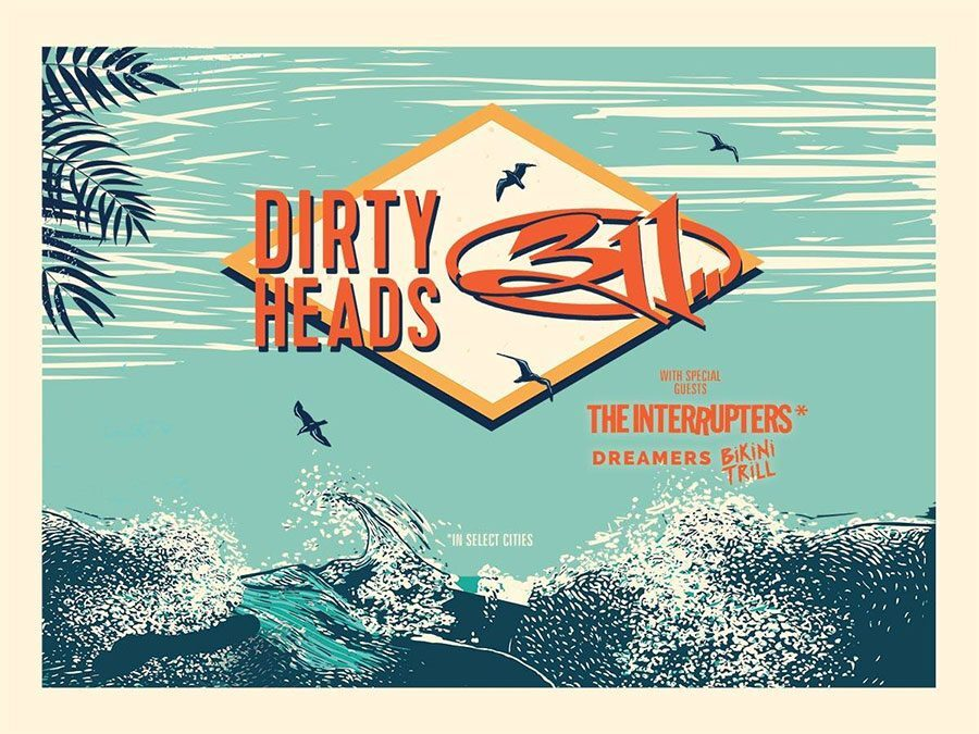 311 And Dirty Heads To Play Volvo Car Stadium This July