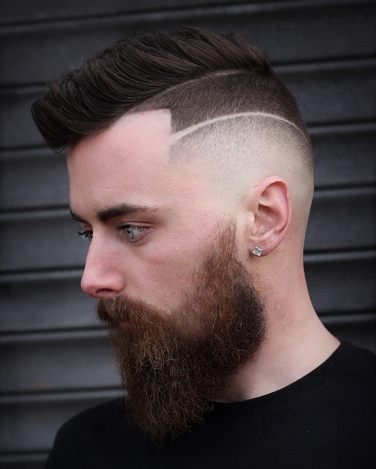 Best Comb Over Fade Haircuts for Fashionable Men | Holy City ...